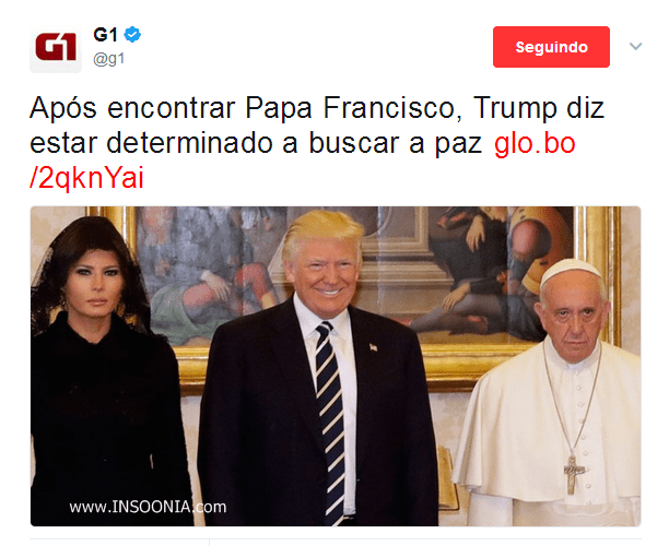 Papa dando exemplo no sorriso!